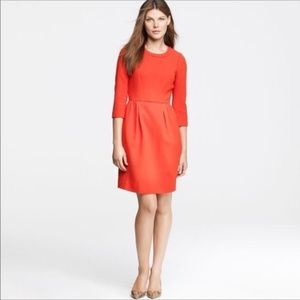 J. Crew Factory | Red Anytime Wool Dress